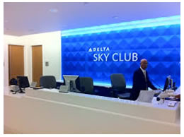 Stay at Delta Sky Club when flying with your pet